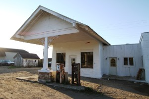 Historic Service Station in Stanwood. ©Mike Kelly