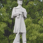 LHHB Soldier at Crawford Co Courthouse, Denison, IA